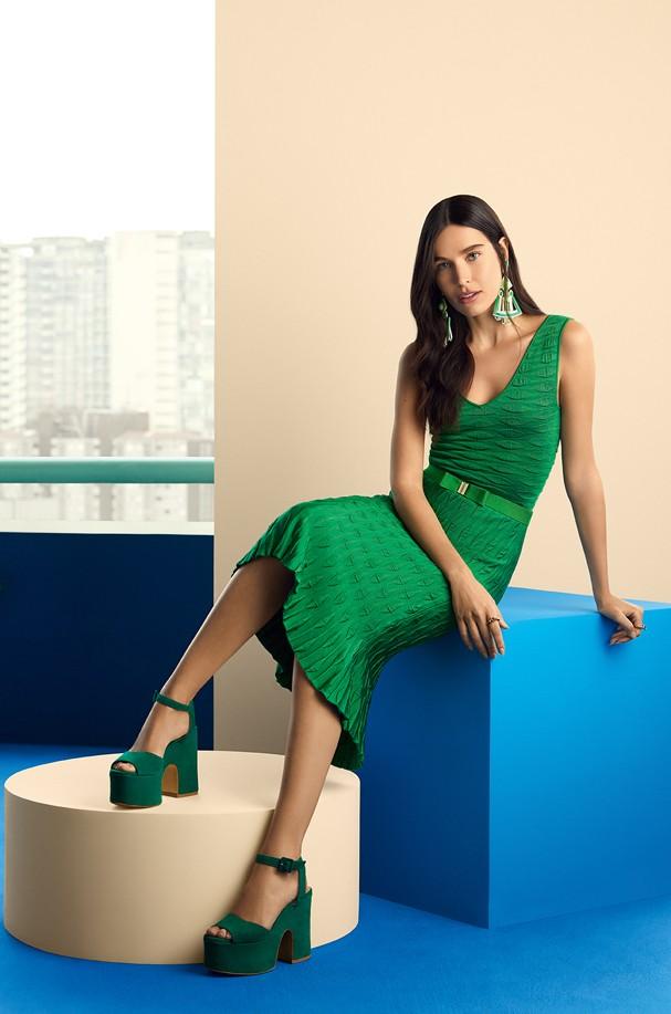 Campanha da coleção da C&A e GIG Couture (Foto: Divulgação)