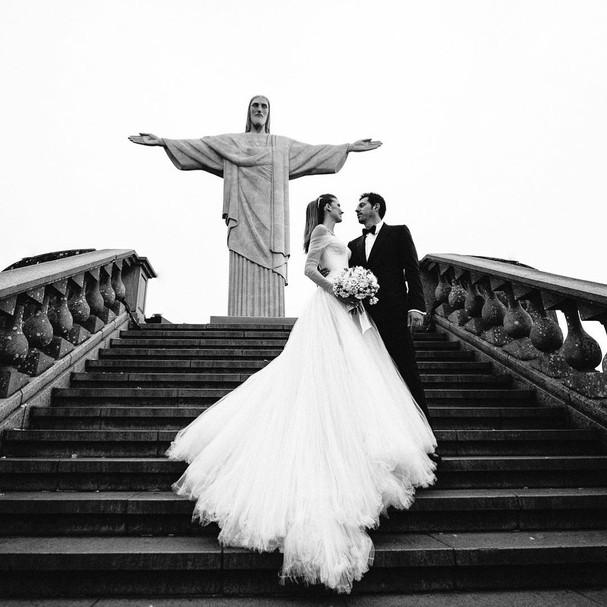 Michelle Alves e Guy Oseary (Foto: Instagram/Reprodução)