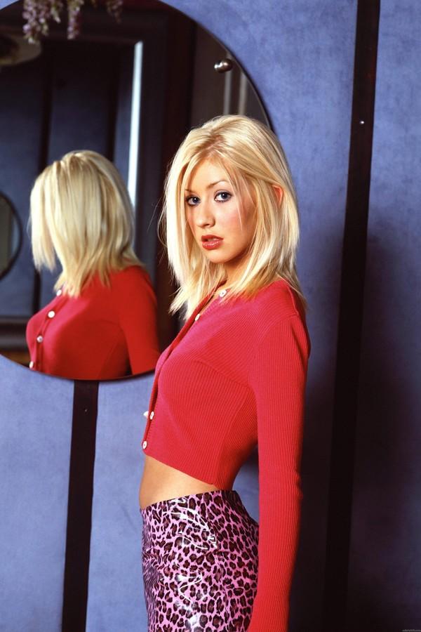Christina Aguilera nos anos 1990 (Foto: Reprodução)