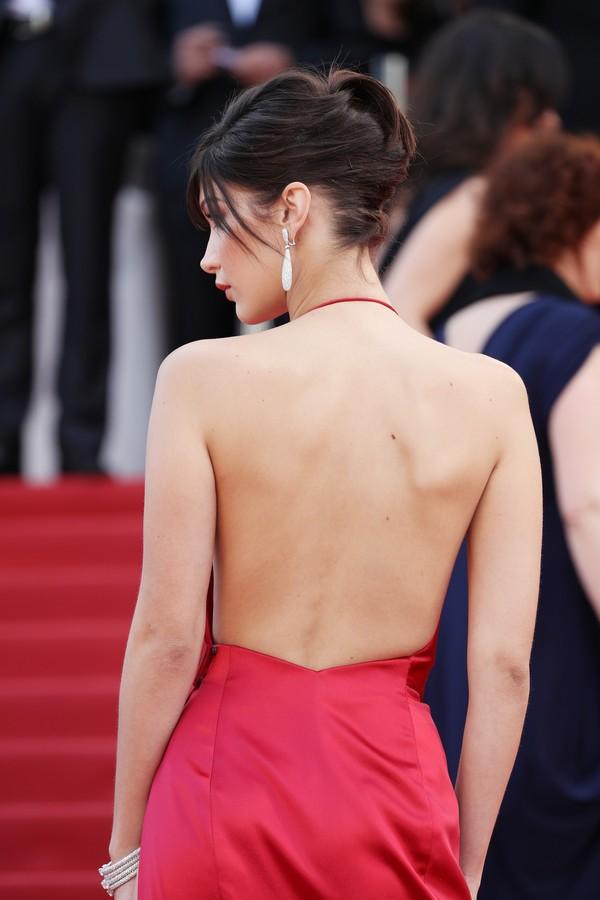 Bella Hadid no Festival de Cannes 2016 (Foto: Getty Images)