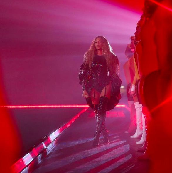 Beyonce no Coachella (Foto: Reprodução/Instagram)
